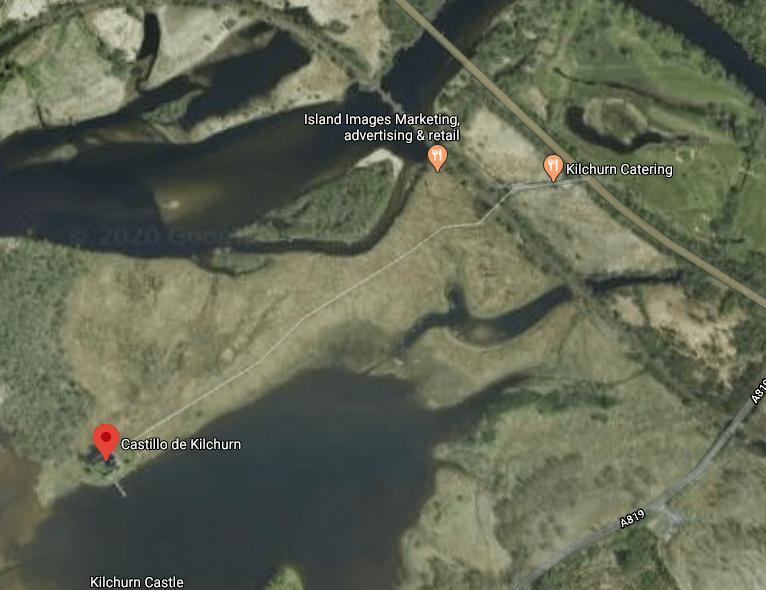 Desvio al castillo de Kilchurn