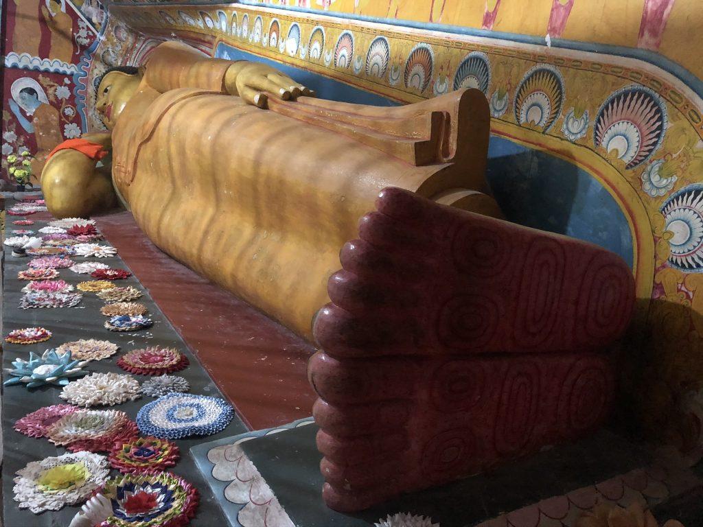 Interior del templo de Yatagala