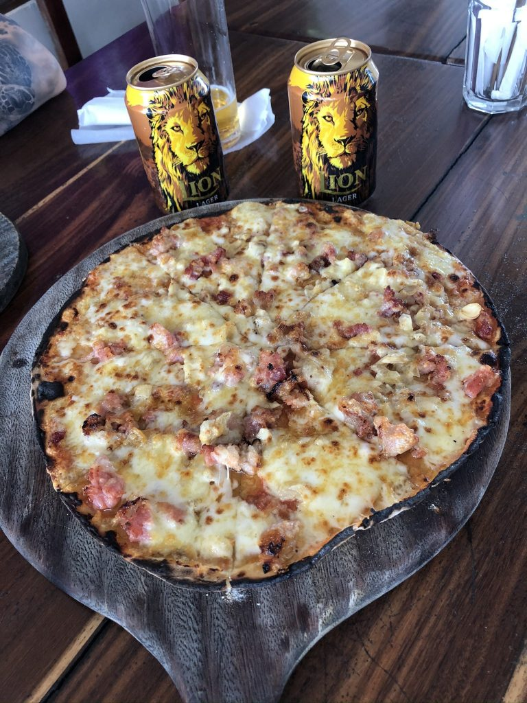 Pizza en Sri Lanka