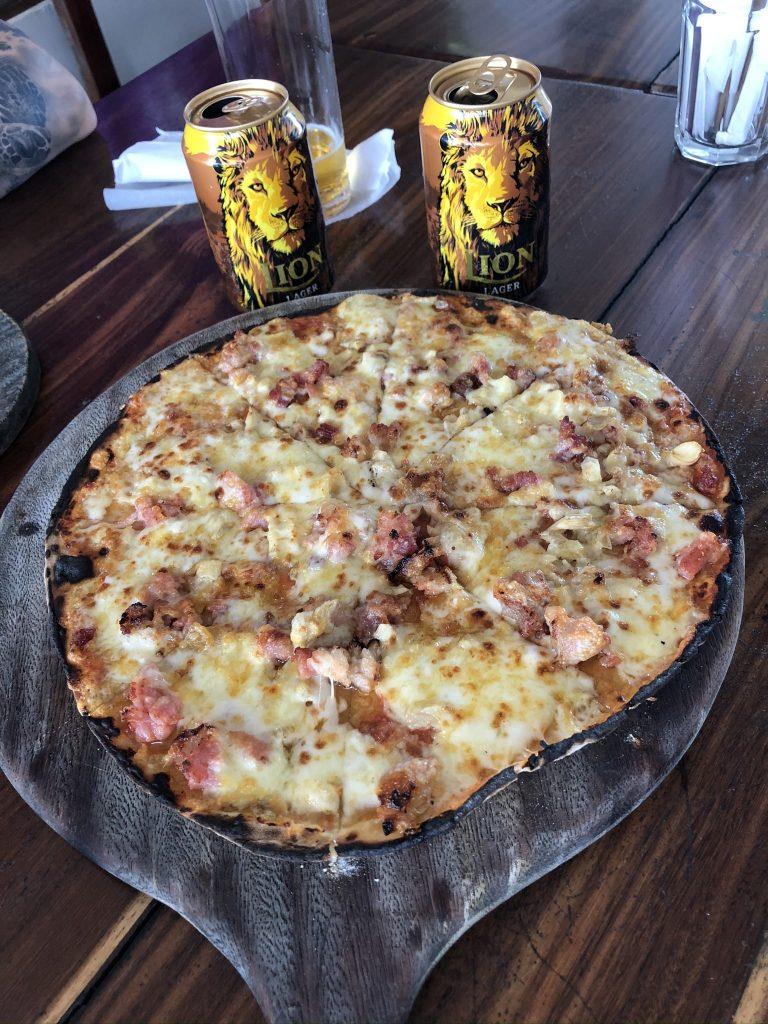 Pizza en Sri Lanka