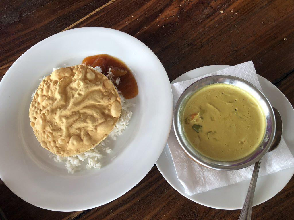Curry en Wijaya Beach