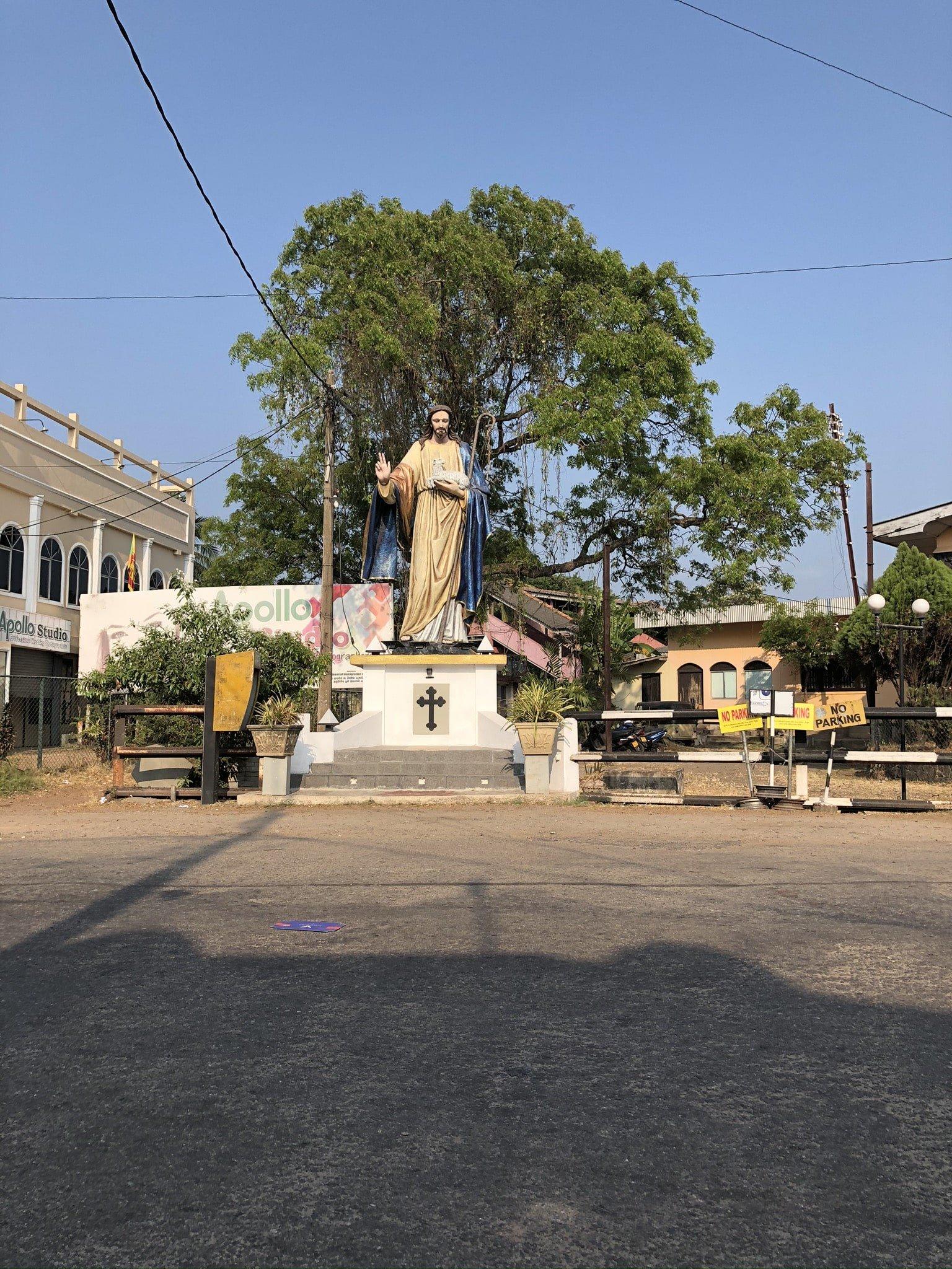 Cristo en Negombo