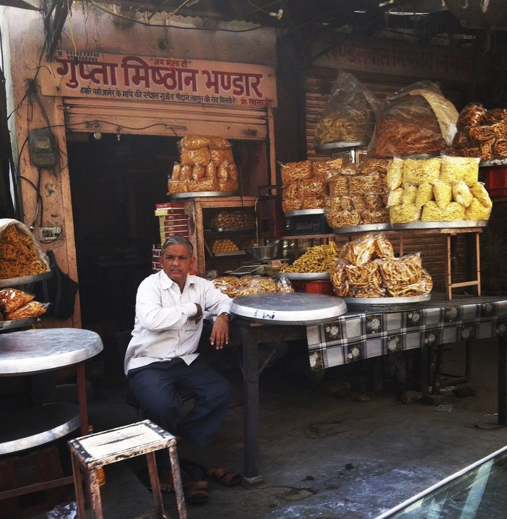 Calles de Jaipur