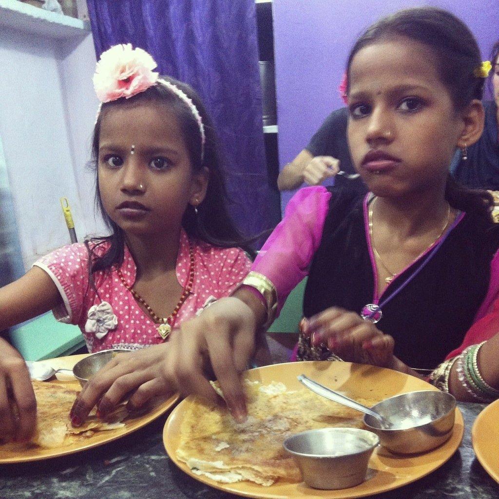 Dosas en Varanasi