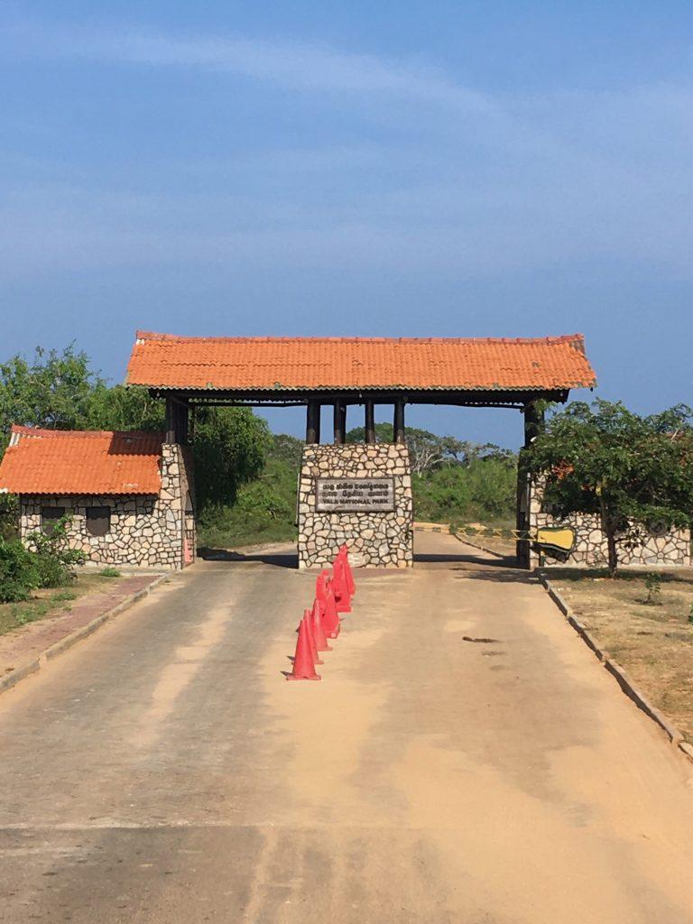 Entrada/ Salida al parque nacional de Yala