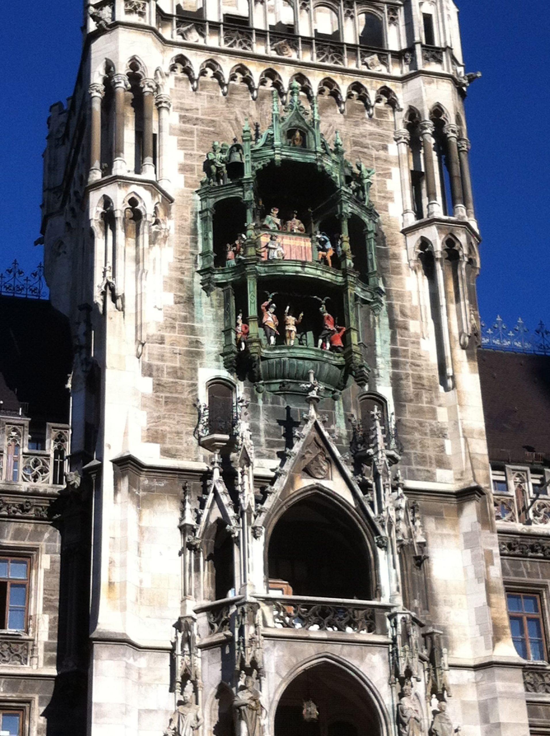 Detalle del Carrillón catedral Múnich