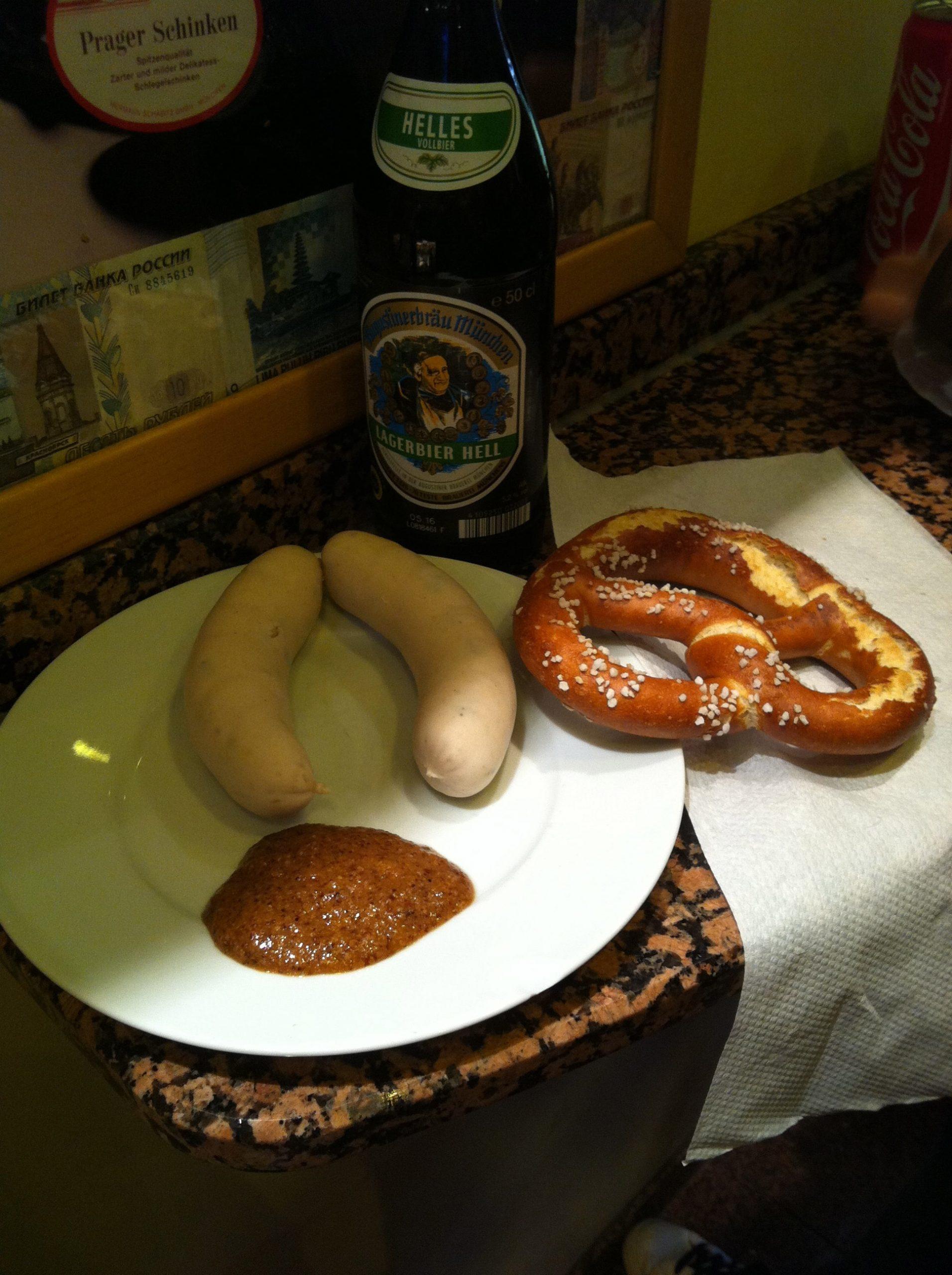 Comida típica en Munich