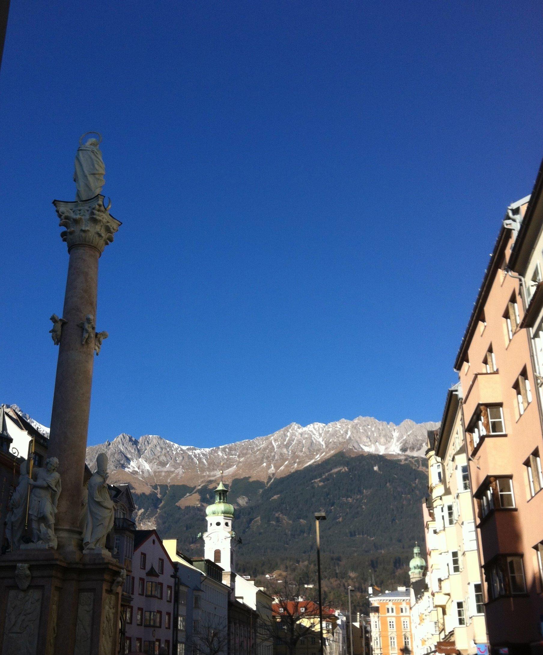 Calle peatonal de Innsbruck