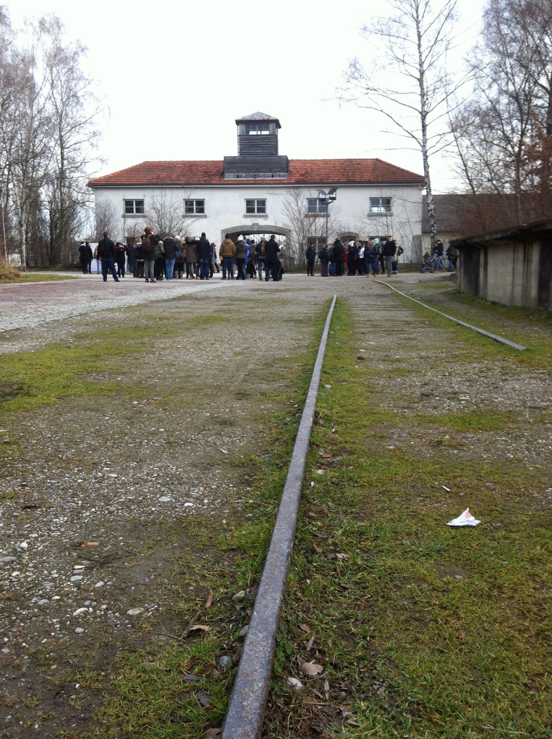 Entrada al campo de concentración