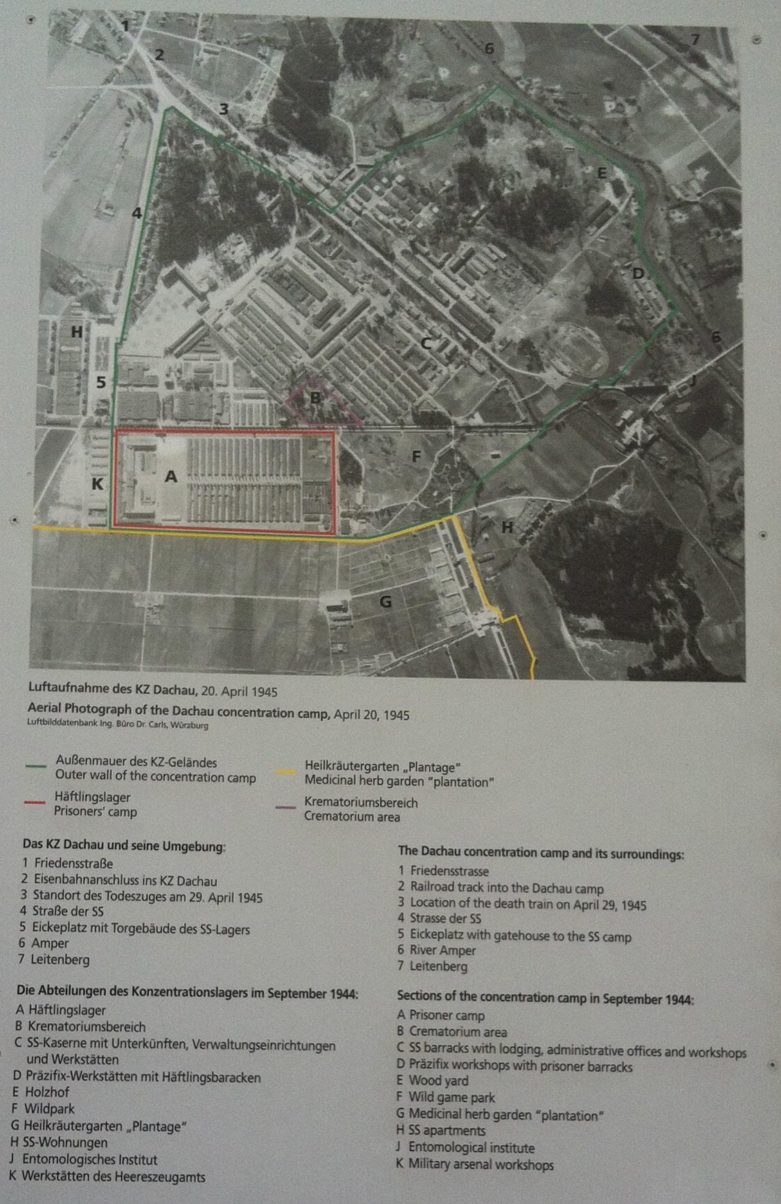 Mapa del campo de concentración