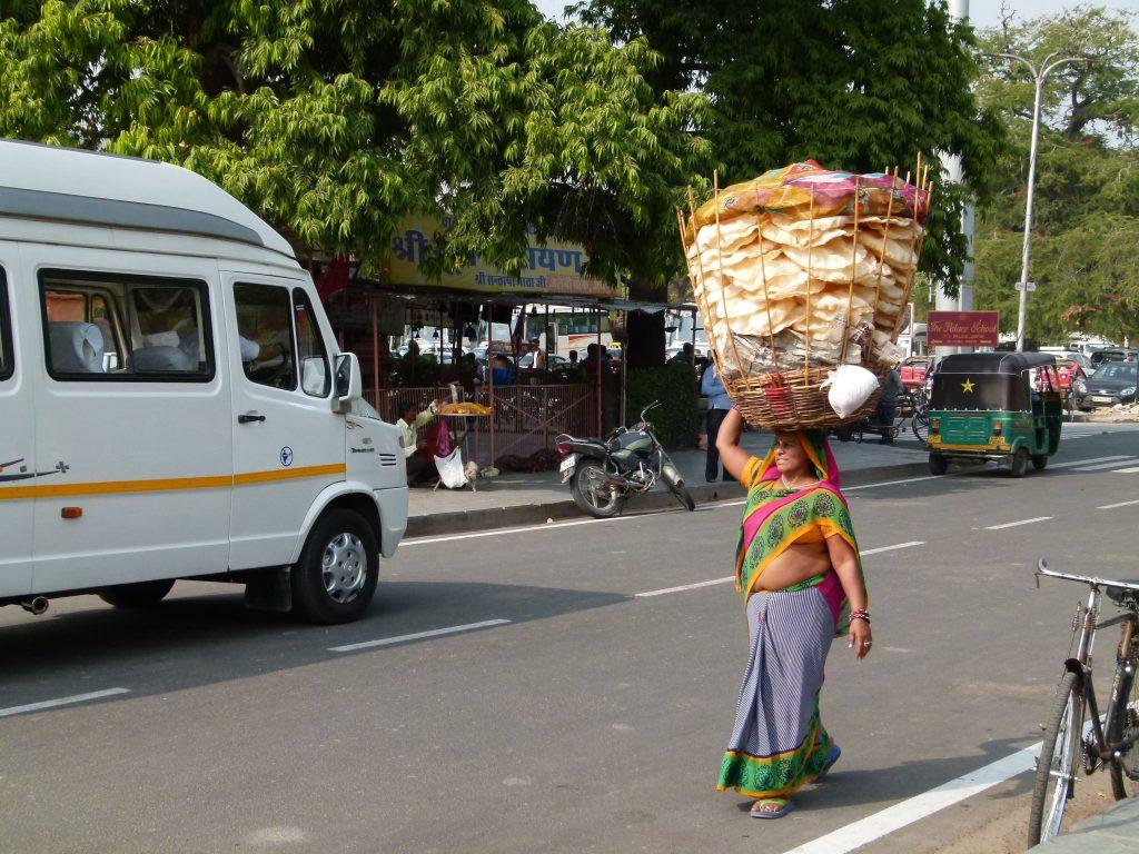 Vendedora en Jaipur