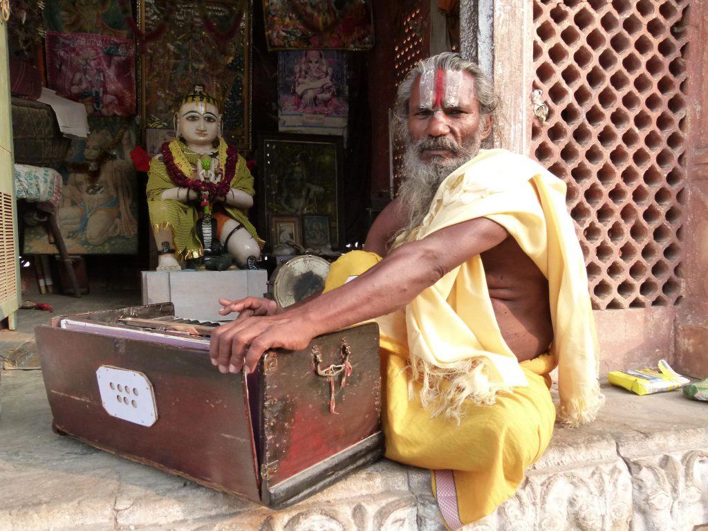 Sadhu en Jaipur