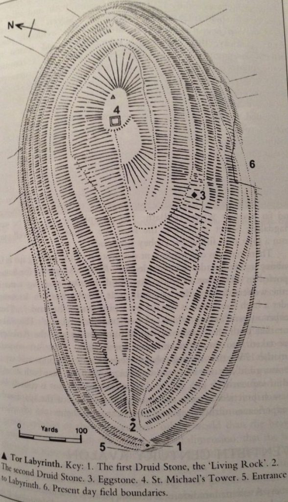 Mapa colina Tor