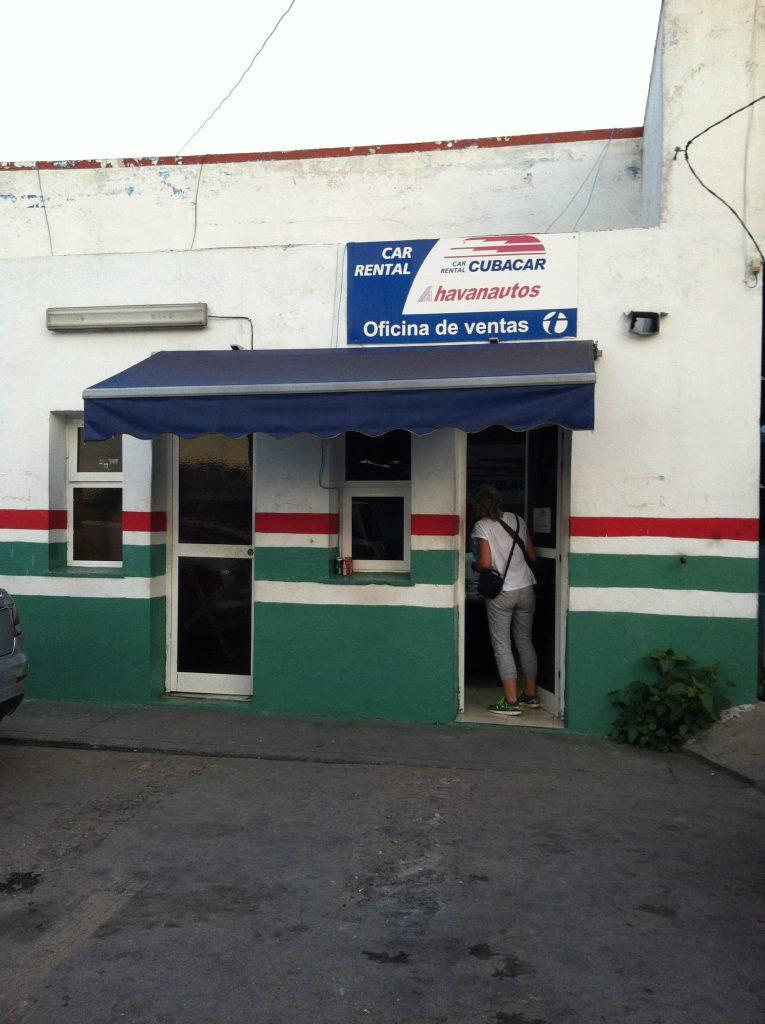 Oficina Cubacar la Habana