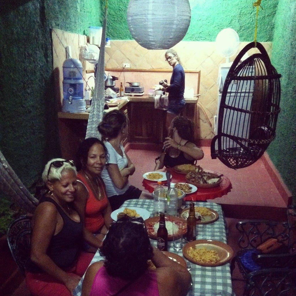 cena en Trinidad
