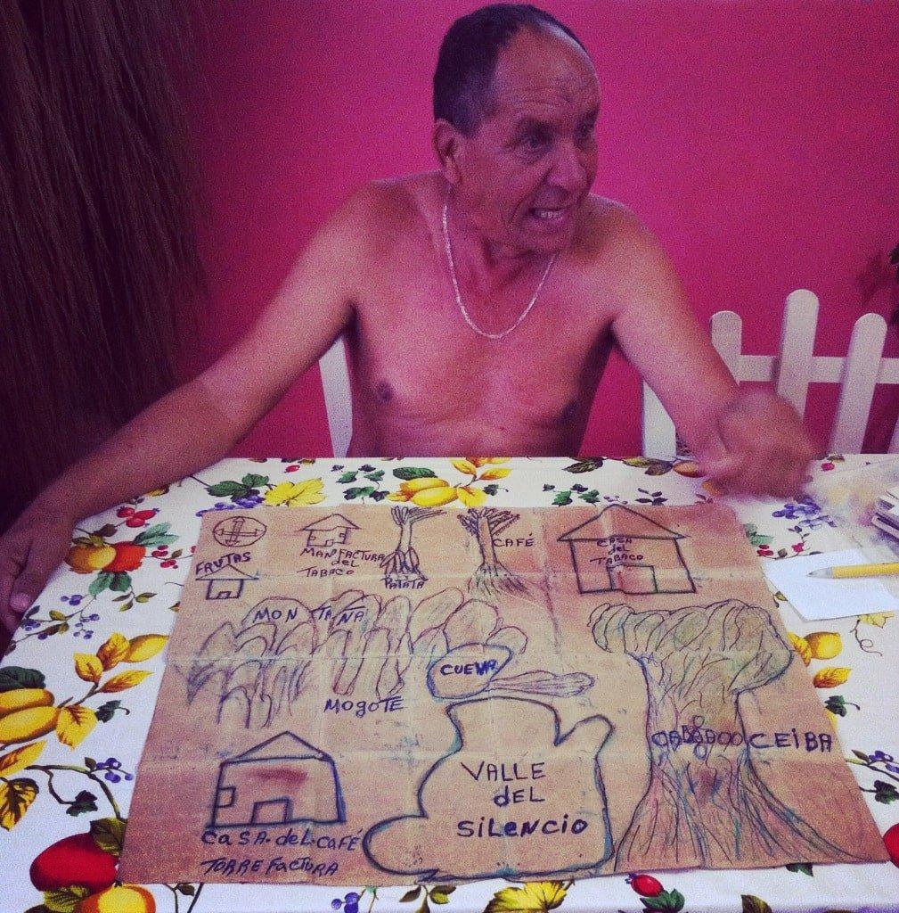 Juanito en Viñales